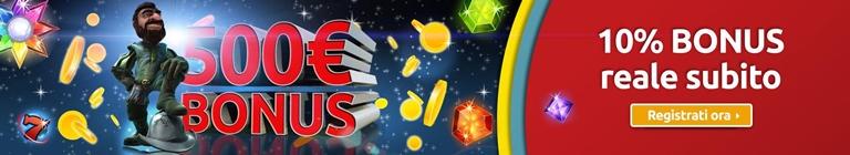 Merkur Win Bonus Benvenuto Casino' su GamesVip