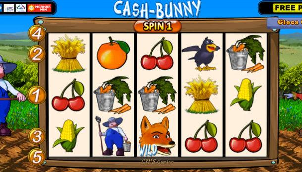 cash bunny slot machine